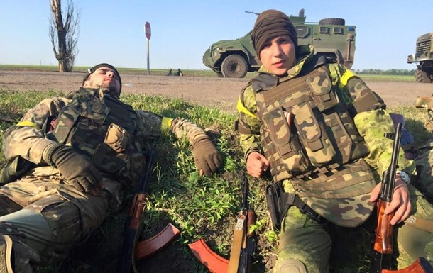Бои за Марьинку. Карта АТО на Донбассе
