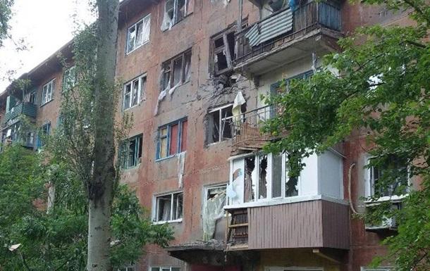 Обстрел Авдеевки: снаряды попали в дома