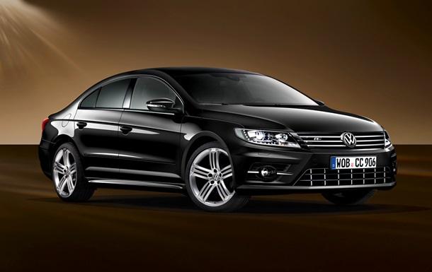 Volkswagen показал специальную версию модели Passat CC