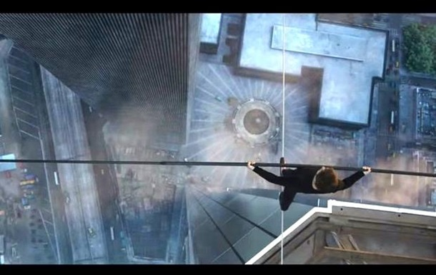 Вышел трейлер к фильму  Прогулка высотой  о жизни канатоходца