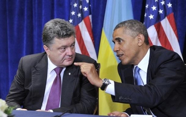 Порошенко и Обама обсудили усиление санкций против России