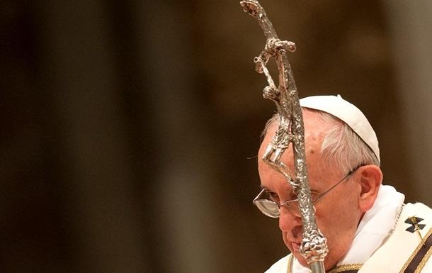 Папа Римский заговорил об  атмосфере войны