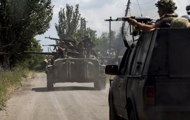 Сутки в АТО: продолжаются обстрелы из тяжелого вооружения
