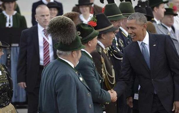 Обама прибыл на саммит G7 в Баварию