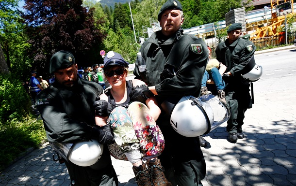 В Германии продолжаются протесты против G7