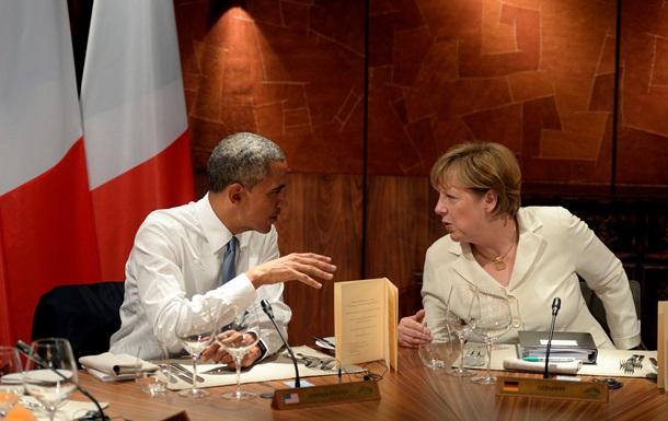 Большую часть встречи Обама и Меркель обсуждали Украину – Белый дом