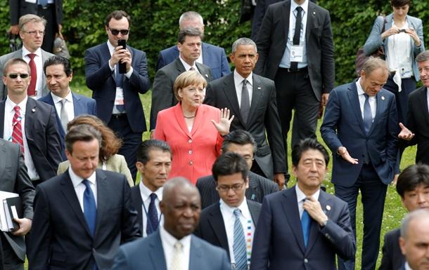 Обзор зарубежных СМИ: Украина - главная тема саммита G7