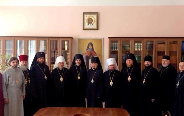 Две украинские православные церкви решили объединиться