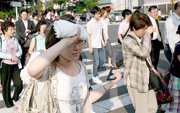 В Японии из-за жары госпитализированы почти 600 человек