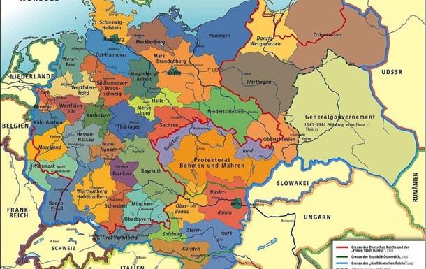 Німці в Чехословаччині: Судетенланд і Протекторат Богемії та Моравії