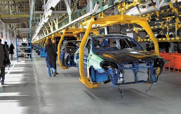 Производство автомобилей в Украине упало в 12 раз