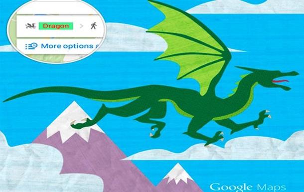 В Google Maps добавлена опция общественного транспорта  дракон