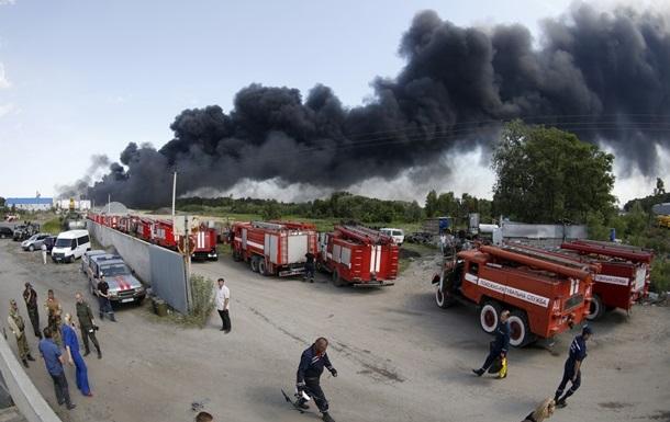Аваков рассказал, когда планируют справиться с пожаром на нефтебазе