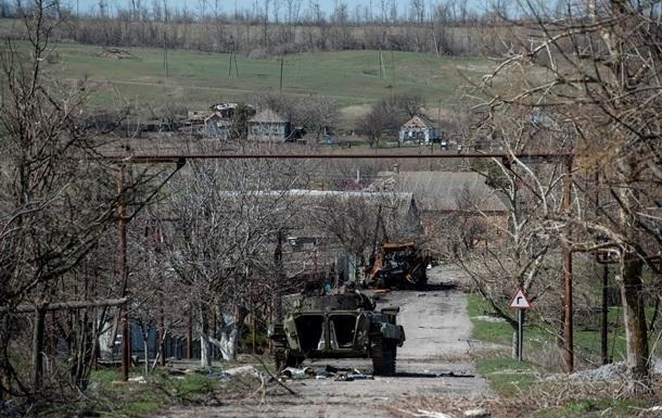 Батальон Азов заявляет об уничтожении техники сепаратистов в Широкино