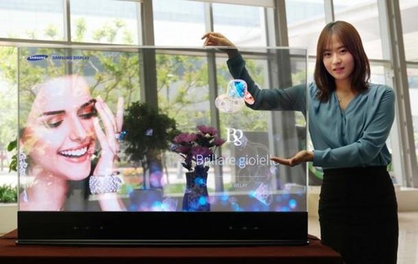 Samsung представила инновационные прозрачные и зеркальные дисплеи