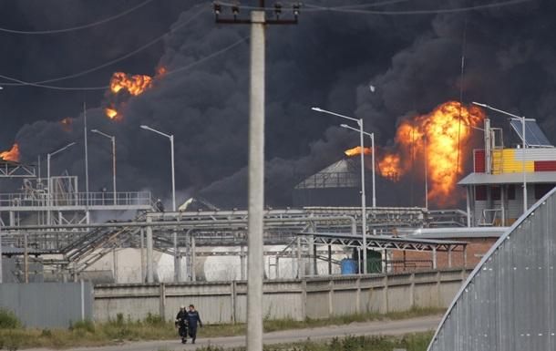 Пожар на нефтебазе под Киевом. Версии возгорания