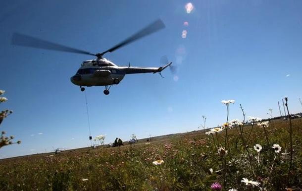 В России вертолет насмерть сбил человека