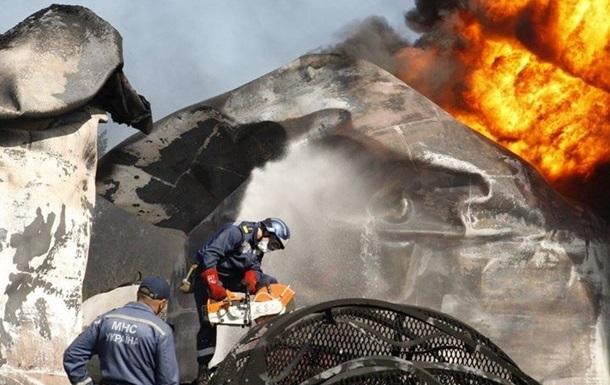 Семьям погибших при пожаре под Киевом пообещали 200 тысяч гривен