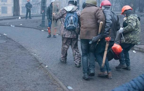Задержаны четыре милиционера, раздававшие  титушкам  оружие на Майдане