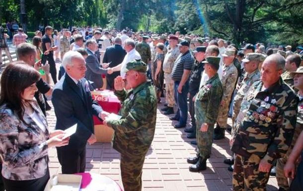 В Симферополе раздали медали за аннексию Крыма