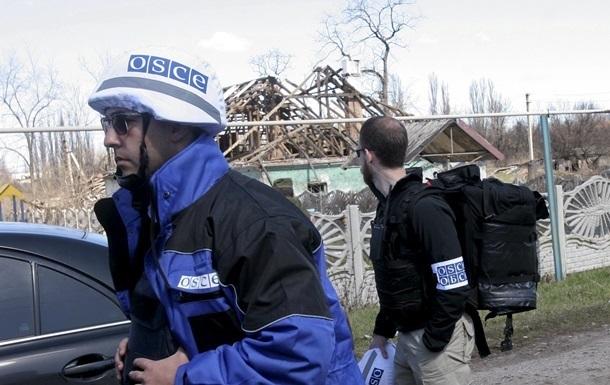 В Горловке местные жители угрожали наблюдателям ОБСЕ