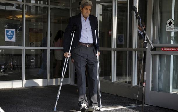 Керри выписали из больницы