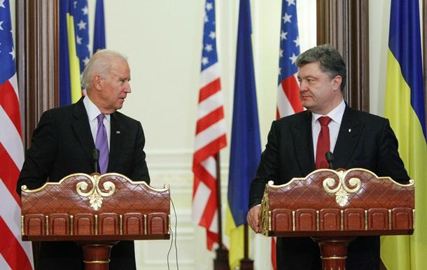 Порошенко поговорил с Байденом о помощи США в укреплении армии