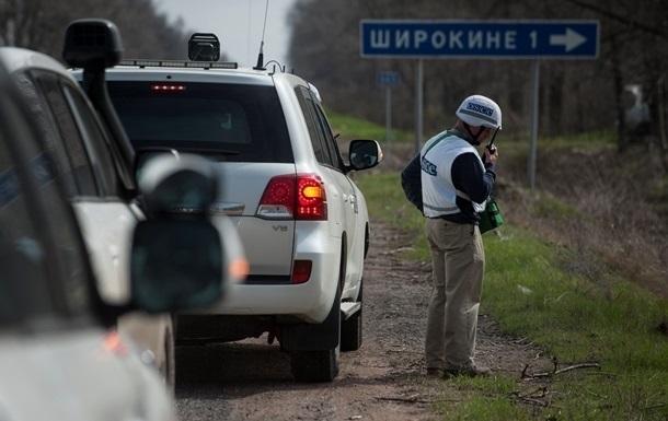 Миссия ОБСЕ возобновила работу в Широкино спустя месяц