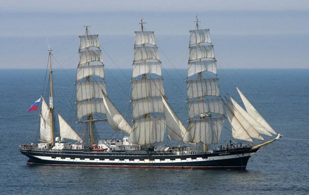 Российский парусник все-таки вышел из порта Рейкьявика