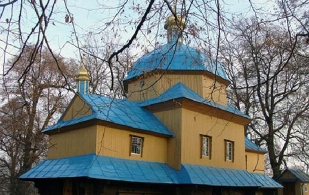 На Львовщине сгорел старинный храм