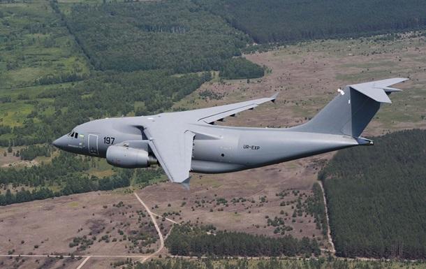 Украина представит на авиасалоне в Ле Бурже Ан-178