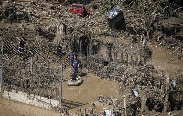 Грузия наводнение