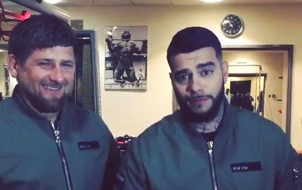 Тимати устроил боксерский спарринг с Кадыровым