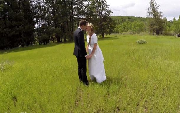 Ролик об испортившем свадьбу беспилотнике стал хитом Youtube