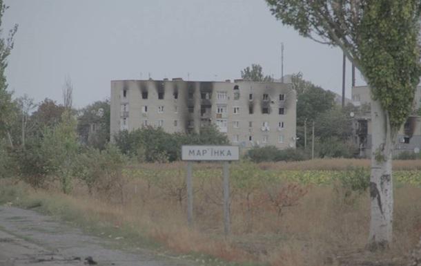 Жилые кварталы Марьинки попали под обстрел: ранена женщина