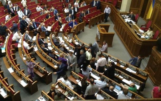 Семенченко заявляет, что не дрался в Раде