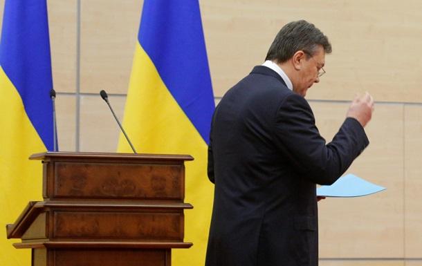 Порошенко оспорит в суде закон о лишении Януковича звания президента