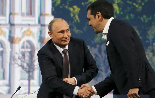 Путин: ЕС должен аплодировать России за помощь Греции