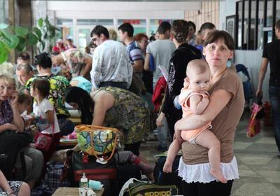 По данным ООН численность беженцев из Донбасса превысила 2 млн. человек