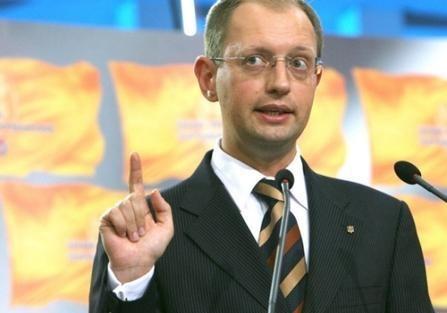 Блог пользователя  Paschenko: Яценюк в очередной раз поставил себя в неловкое положение