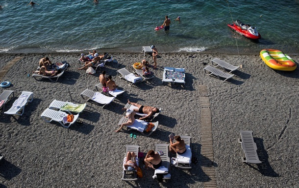 В Крыму за год исчезло почти 90 пляжей