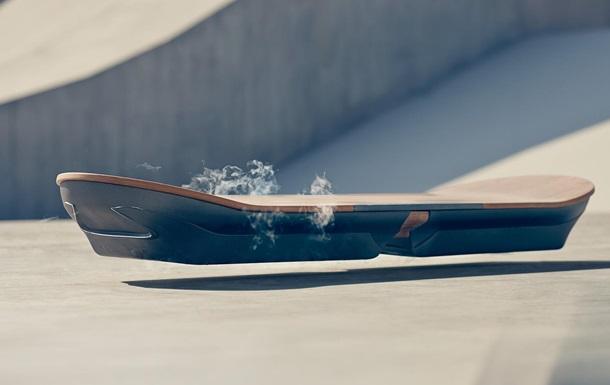 Lexus анонсировал выпуск летающего борда из  Назад в будущее