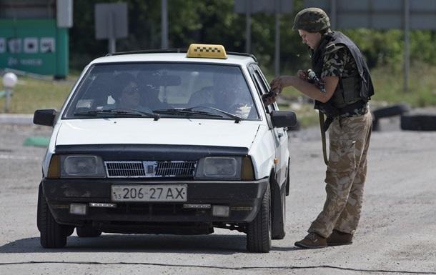 Турчинов назвал дату запуска новой системы пропусков в зону АТО