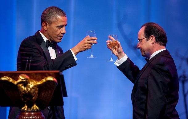 Обама: Штаты не прослушивают Олланда