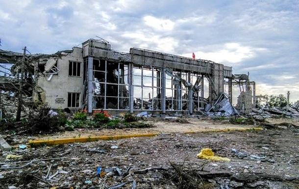 В сети появились фото разрушенного Луганского аэропорта