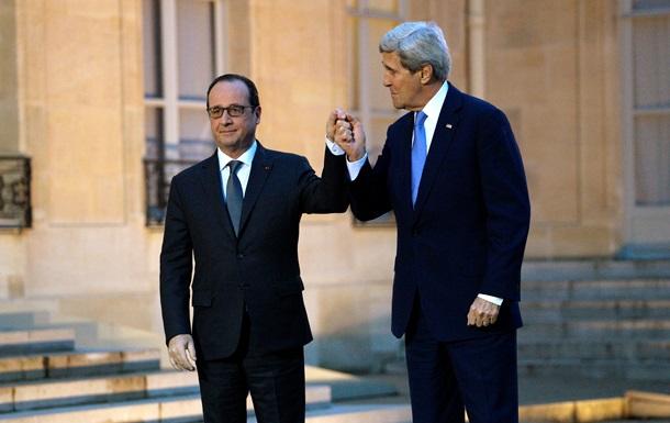 Керри: США не шпионили за Олландом