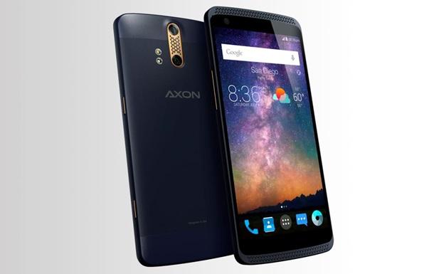 ZTE выпустит первый премиум-смартфон Axon со сдвоенной оптикой