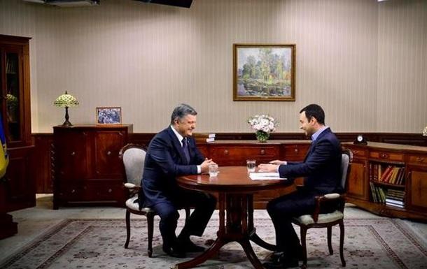 Порошенко заявил, что не допустит давления со стороны ЕС