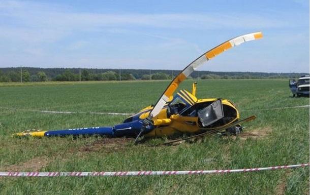 В России упал вертолет: три человека погибли