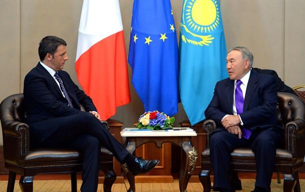 В Милане в лифте застряли президент Казахстана и премьер-министр Италии
